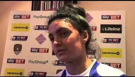 Jess Sigsworth on Signing for Notts County