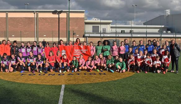 Reds celebrate Girls Football Week with LFC Foundation