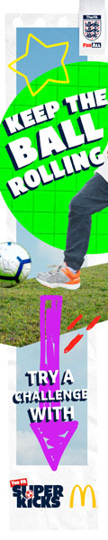 Visit The FA SuperKicks challenge hubs