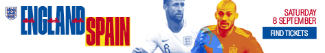 Buy England vs Spain tickets