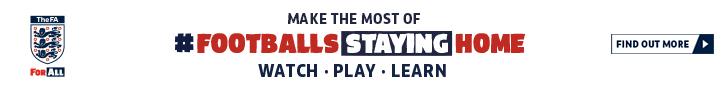 Visit Football's Staying Home hub