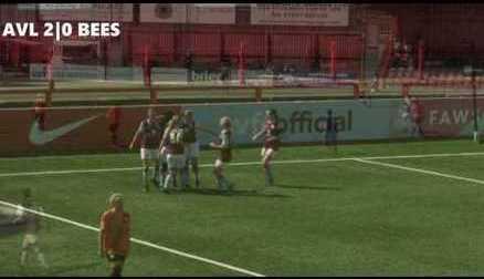 Goals | Aston Villa Ladies 3-2 London Bees | 22/04/17