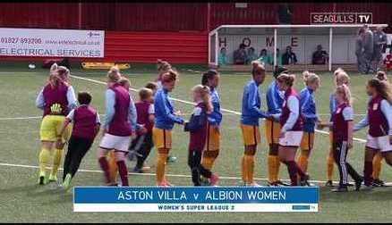 ASTON VILLA 0-1 BRIGHTON & HOVE ALBION WOMEN