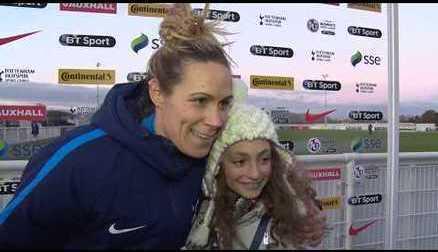 Imogen's dreams come true at Spurs Ladies