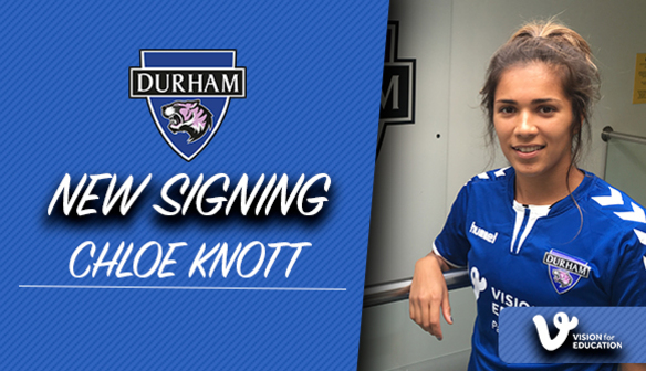 SIGNING: Chloe Knott joins the Wildcats
