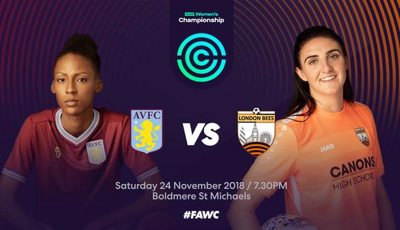 Preview | Aston Villa Ladies v Bees