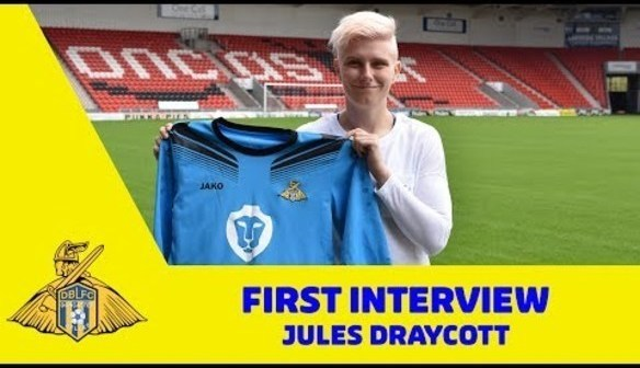 """DRAYCOTT: """"I'm delighted to sign here"""""""