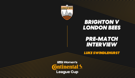 Interview | Luke Swindlehurst prior to Brighton trip