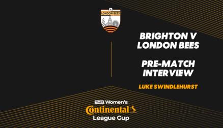 Interview | Luke Swindlehurst prior to Brighton trip