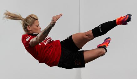 Photo shoot for the FA at Wembley