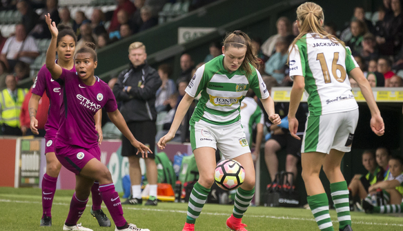 Champions Manchester City hit four past Yeovil