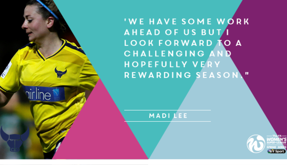 Madi Lee signs new deal