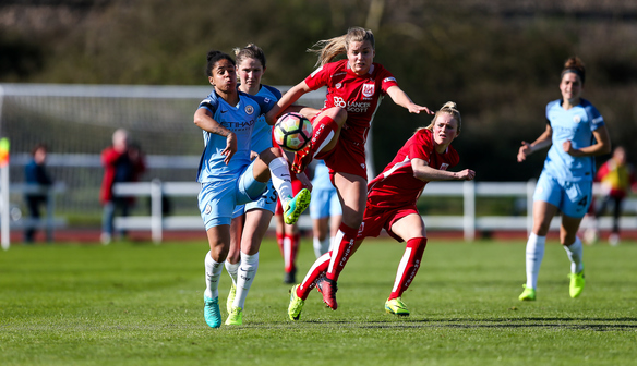 Report: Bristol City Women 1-2 Manchester City