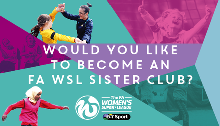 FA WSL launches new programme for grassroots clubs