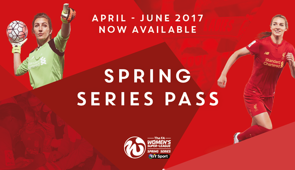 Reds launch Season Tickets for FAWSL Spring Series