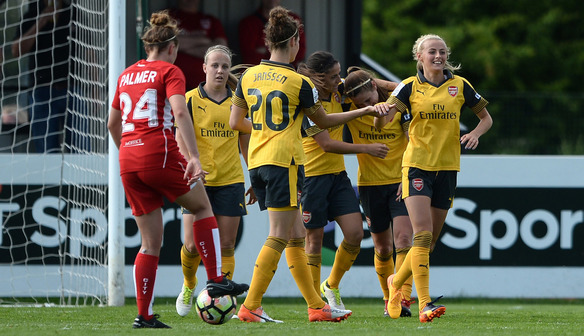 Gunners hit Bristol for five to finish Spring Series unbeaten