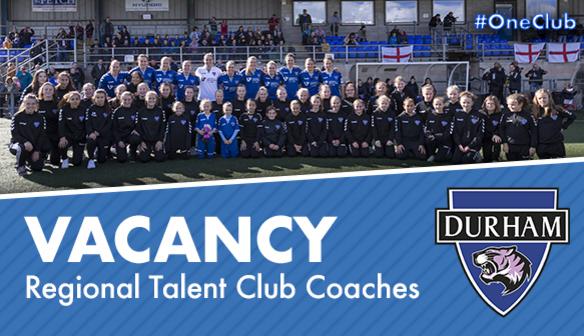 VACANCY: Regional Talent Club Coaches