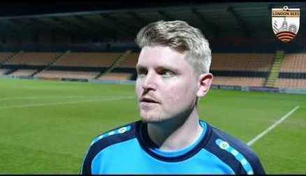 Reaction | Luke Swindlehurst after late victory over Brighton