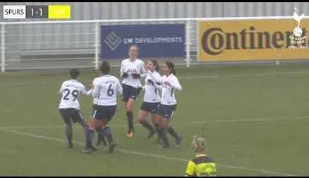 HIGHLIGHTS | TOTTENHAM HOTSPUR LADIES 2-1 OXFORD UNITED WOMEN