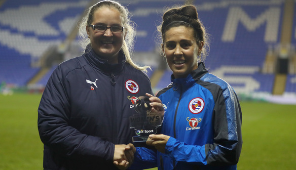 Fara Williams Announced as FA WSL1 Player of the Month!