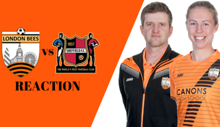 Reaction | David Edmondson and Ashleigh Goddard after 2-1 victory over Sheffield FC Ladies