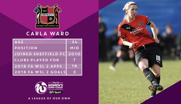 Sheffield FC's Carla Ward