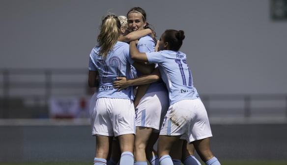 Scott's double secures second for City in FA WSL 1