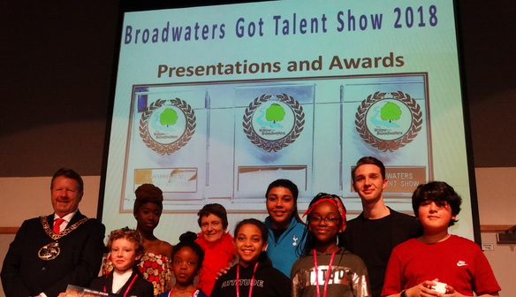 Renee judges Broadwaters' Got Talent 2018