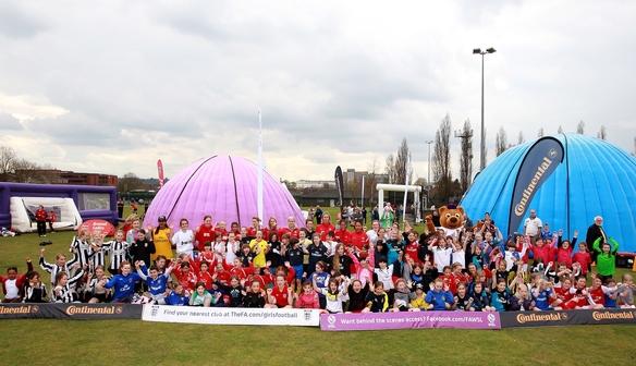 FA Girls festival at Borehamwood