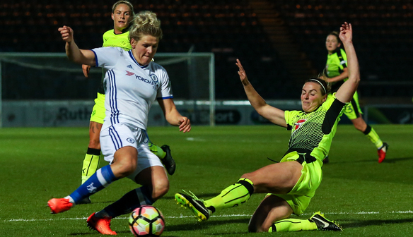 Disappointment at Adams Park against Strong Chelsea Side