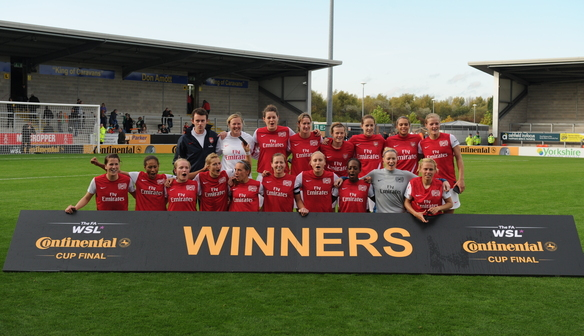 2011 Cup Winners: Arsenal Ladies