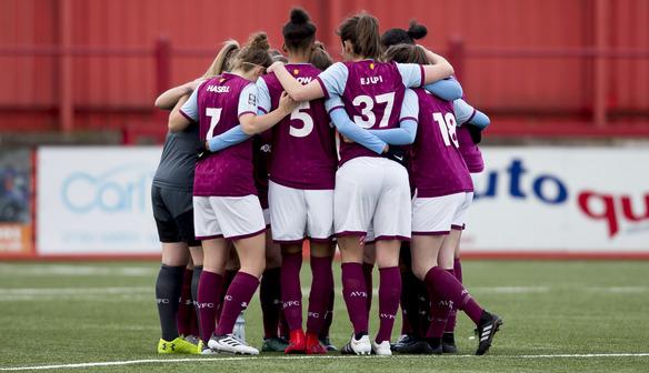Villa Secure Place In FA Women's Championship