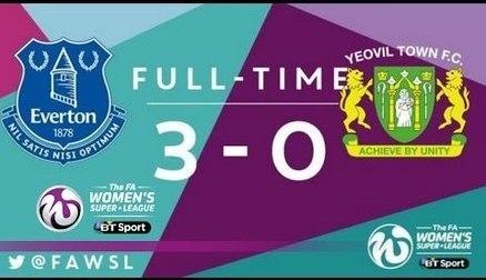 Everton Ladies 3-0 Yeovil Town Ladies | Goals & Highlights