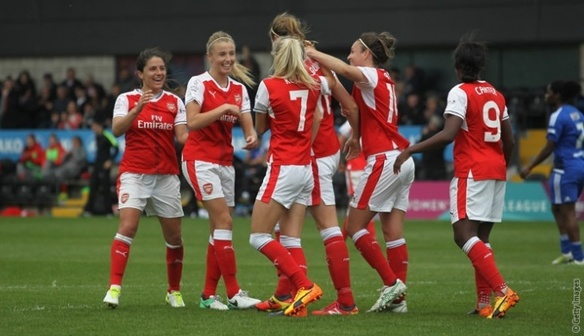 May 20 Arsenal 4 Birmingham City Ladies 2