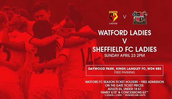 Preview: Watford (A), Sunday 23 April 2017