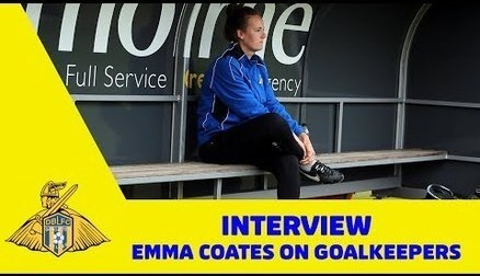 Emma Coates on goalkeepers