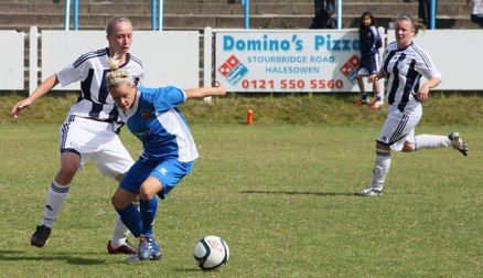 Gilliatt Makes Her Debut Against Sporting Club Albion in 2011