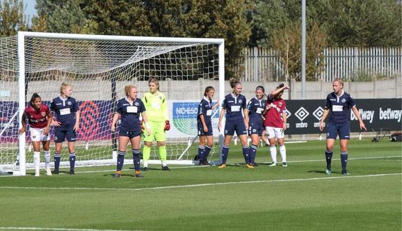 West Ham United Women FC 4 Millwall Lionesses FC 0