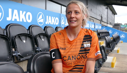 Interview | Emma Beckett reacts to being named captain of London Bees