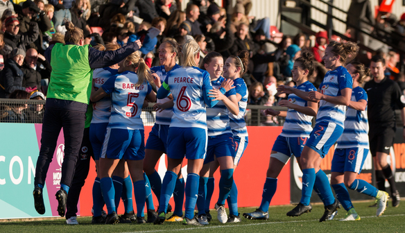 Royals to host Arsenal in the Conti Cup Semi Finals!