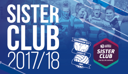 BLUES LADIES WELCOME FIVE NEW CLUBS TO THE SISTER CLUB PROGRAMME
