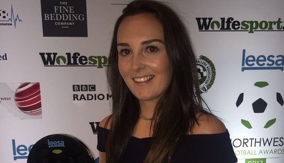 Weir named Women's Player of the Year 2017 at NWFA