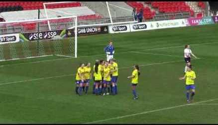 GOALS | Doncaster Rovers Belles 4-1 London Bees | 12/03/2017
