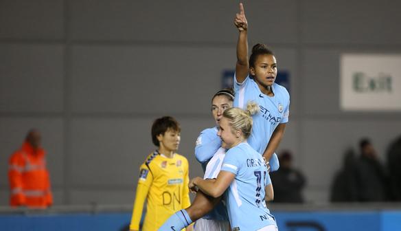 Report: City 2-1 LSK Kvinner (7-1 agg)