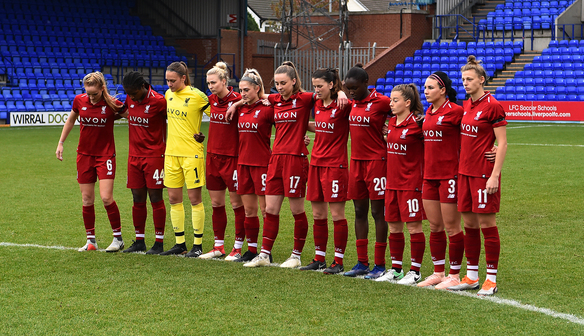 Match report: LFC Women fall to Man City defeat in WSL