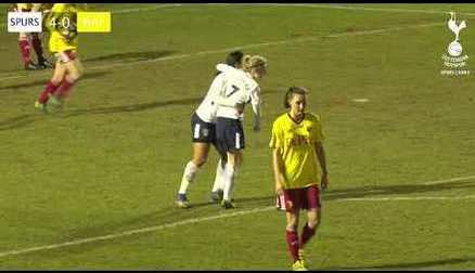 HIGHLIGHTS | TOTTENHAM HOTSPUR LADIES 6-0 WATFORD LADIES