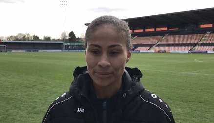 Reaction | Rachel Yankey post Charlton Athletic