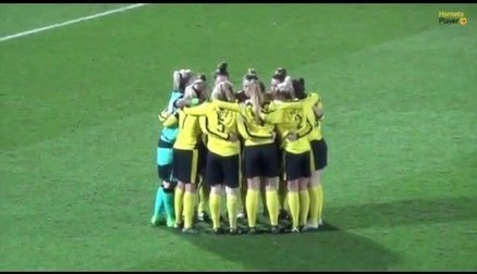 Match Highlights: London Bees 2-2 Watford Ladies. Filming from Hornets PlayerHD