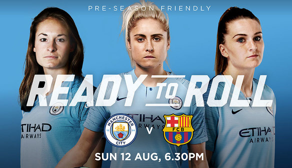 City to host friendly against Barcelona