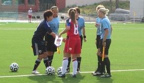 Michelle Hinnigan Team GB captain